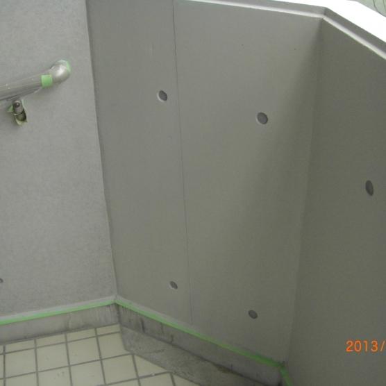 外壁コンクリート仕上げを再生 塗装