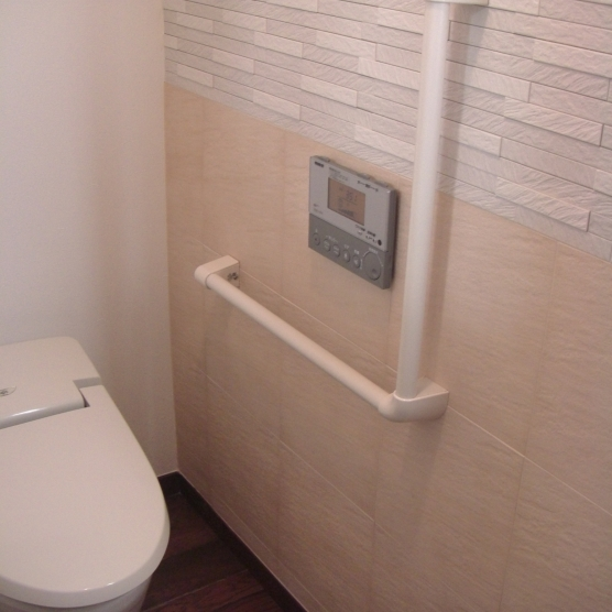 板橋区 トイレ 内装タイル工事