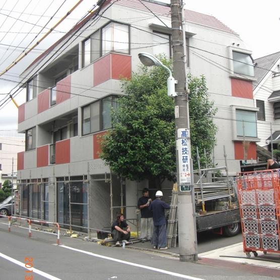 東京都 豊島区 I様邸 外壁塗装工事